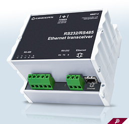 Ethernet converter MBET-3 for modbus RTU systems